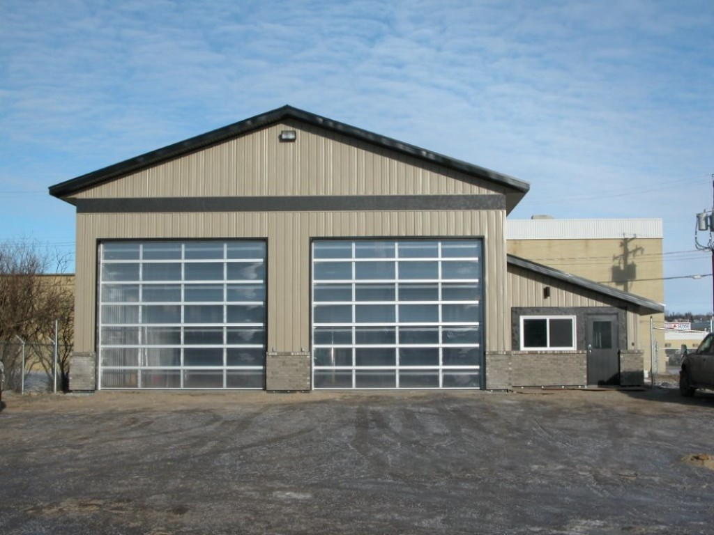 Shops garages farm buildings hangars ipb systems for Garage with shop