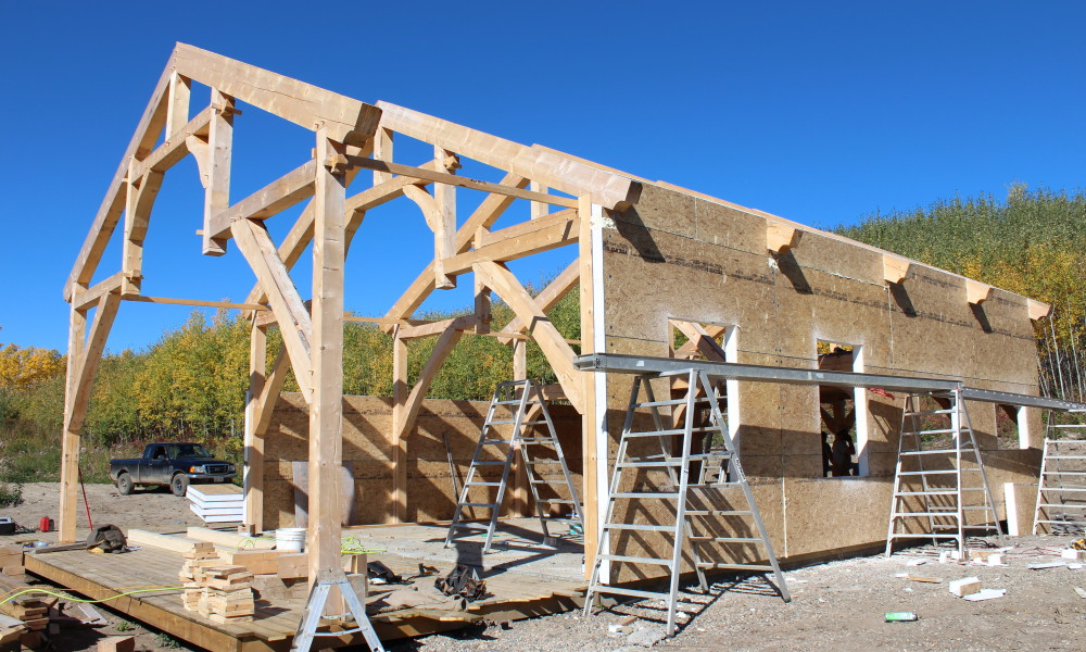 Post & Beam / Timber Frame Solutions – IPB Systems
